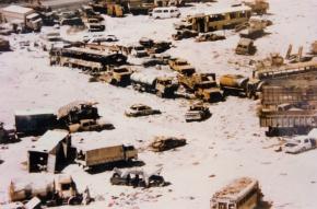 Death Valley. Iraq war one.