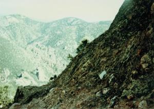 California fault line.