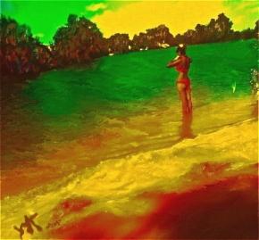 """Red Sand"", 2013, YUriy Ku Drop"