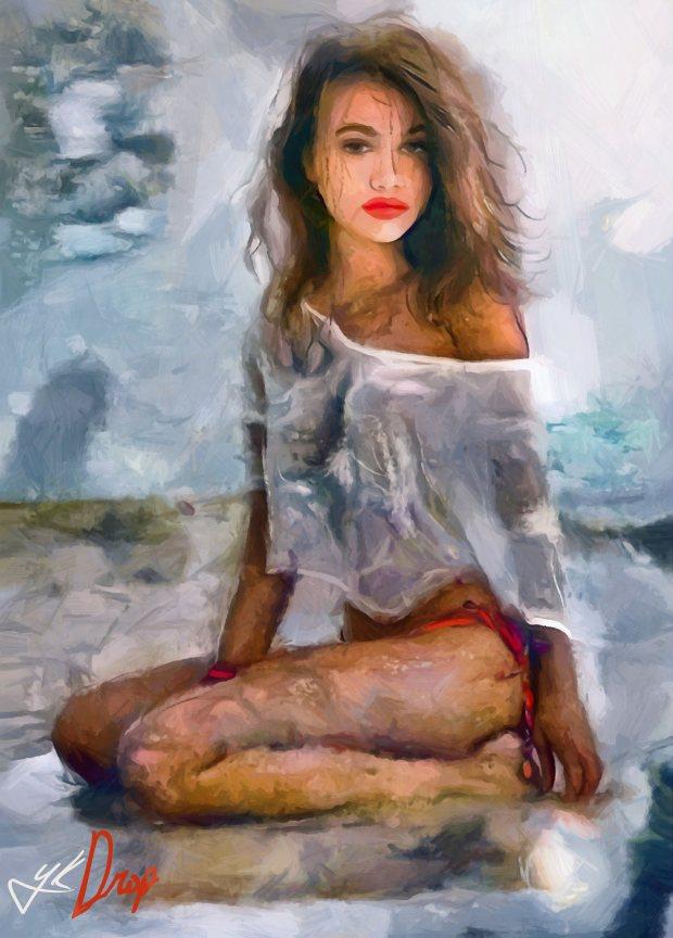 """Fragment Of Friction"", 2016, Yuriy Ku Drop"