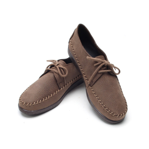 mens-natural-unique-stitch-brown-cow-leather-rubber-sole-lace-up-shoes