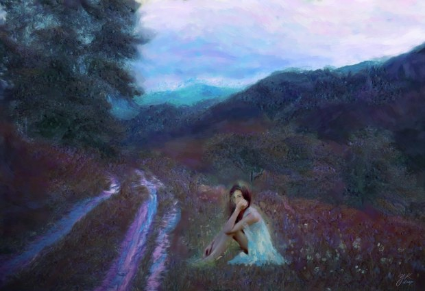 """Lonely Path"", 2016, Yuriy Ku Drop"