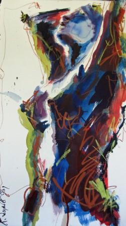 Abstract Nude Painting - Robert Joyner