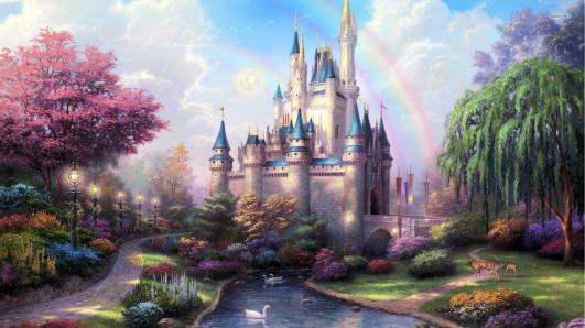 Fairytale-Castle-Cartoon-Wallpaper-Picture