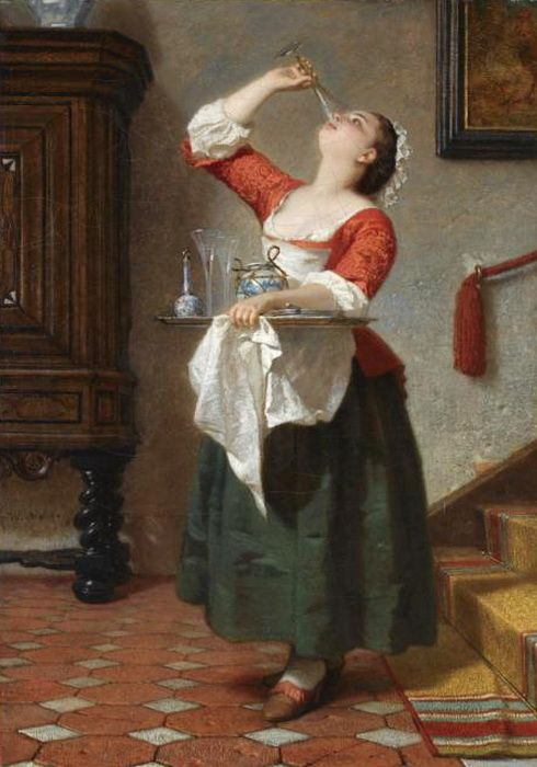 SCULLERY MAID5